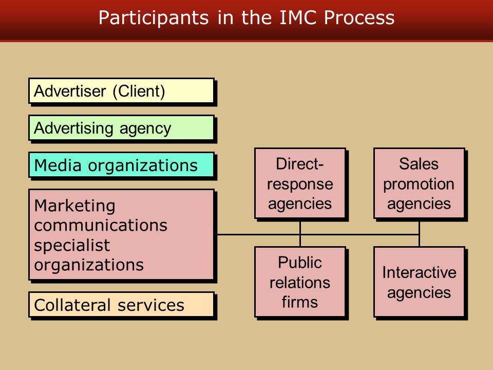 Participants in the IMC Process
