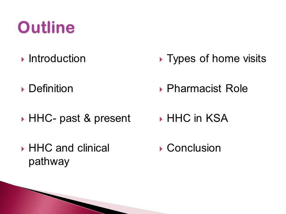 Outline Introduction Definition HHC- past & present