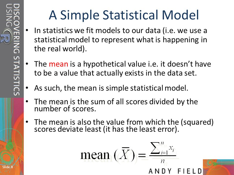 A Simple Statistical Model