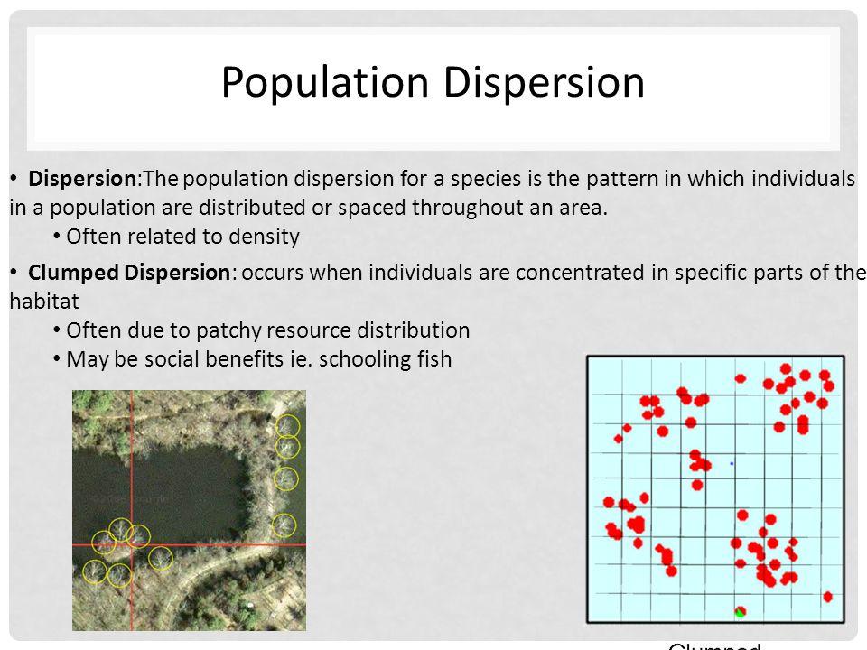 Population Dispersion