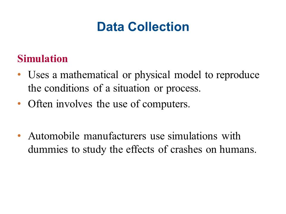 Data Collection Simulation