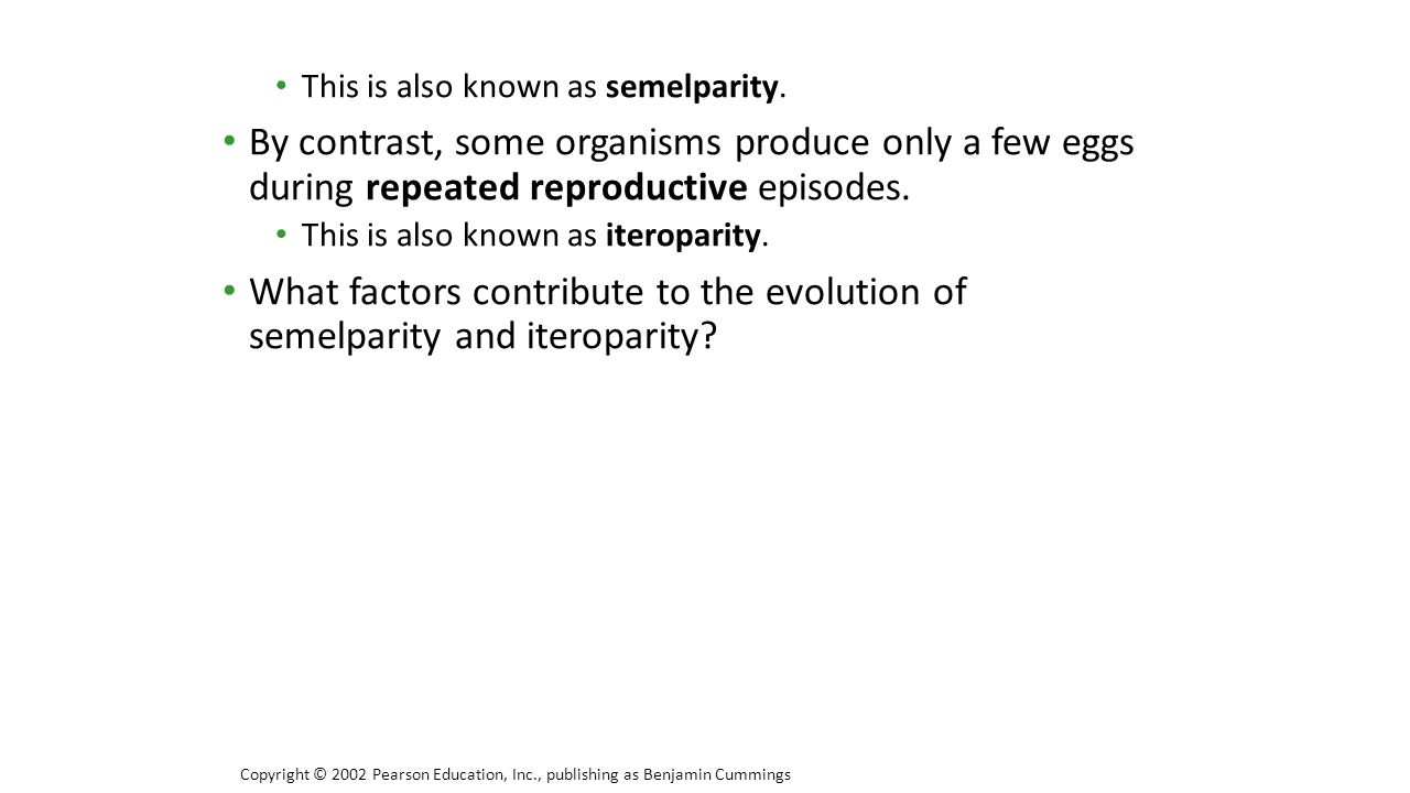 This is also known as semelparity.