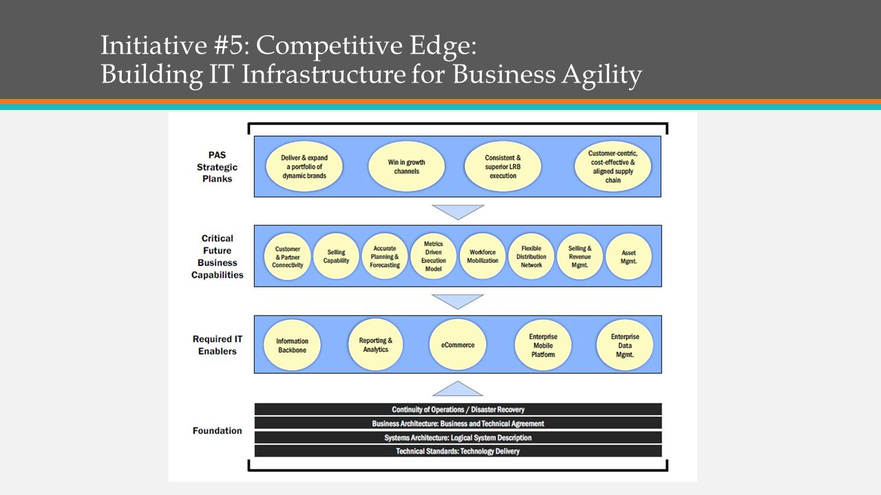 Initiative #5: Competitive Edge: Building IT Infrastructure for Business Agility