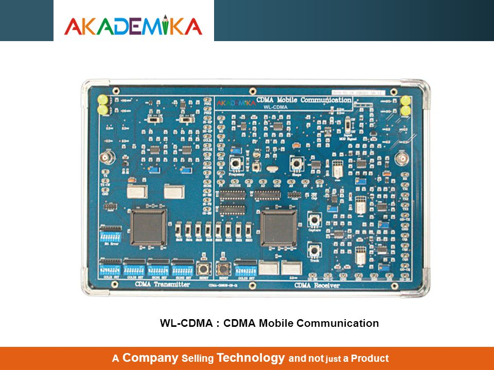 WL-CDMA : CDMA Mobile Communication