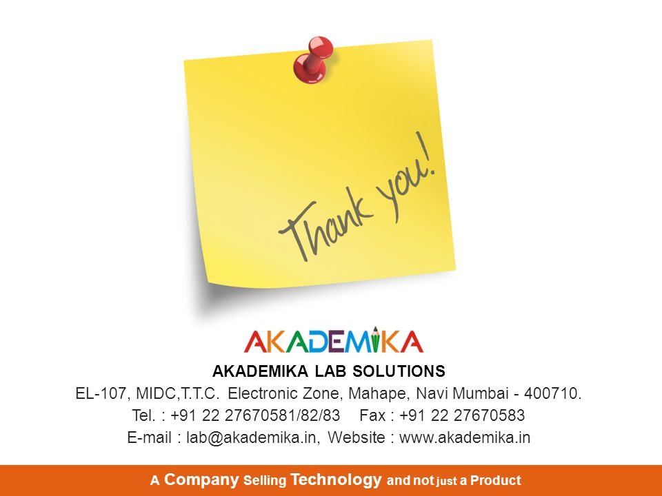 AKADEMIKA LAB SOLUTIONS