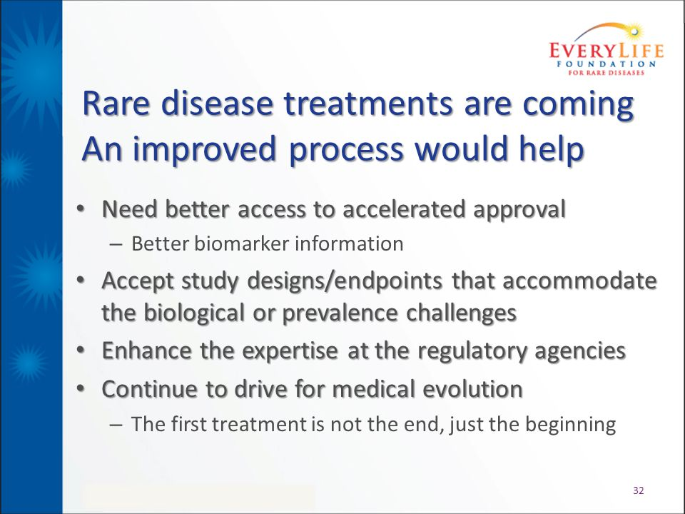 Rare disease treatments are coming An improved process would help