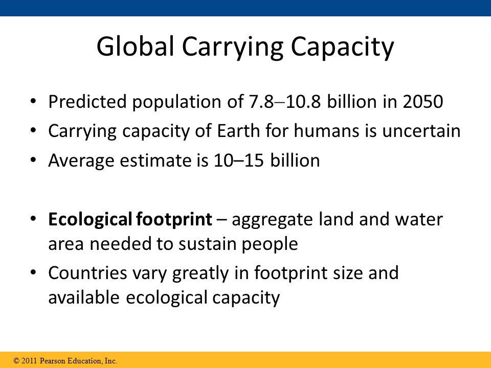 Global Carrying Capacity