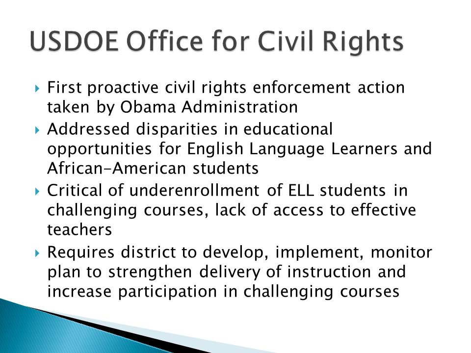 USDOE Office for Civil Rights