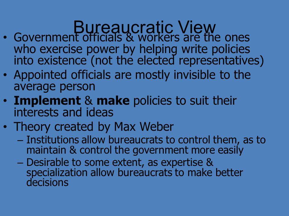 Bureaucratic View