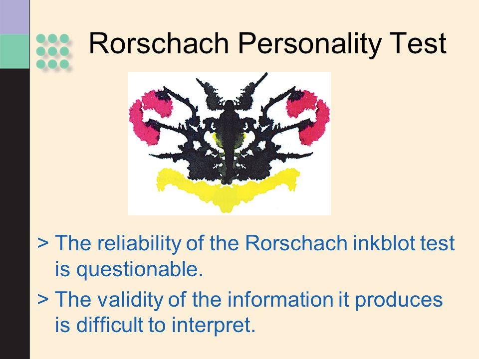 Rorschach Personality Test