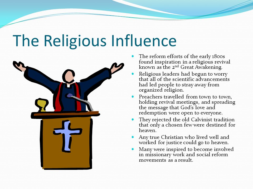 The Religious Influence