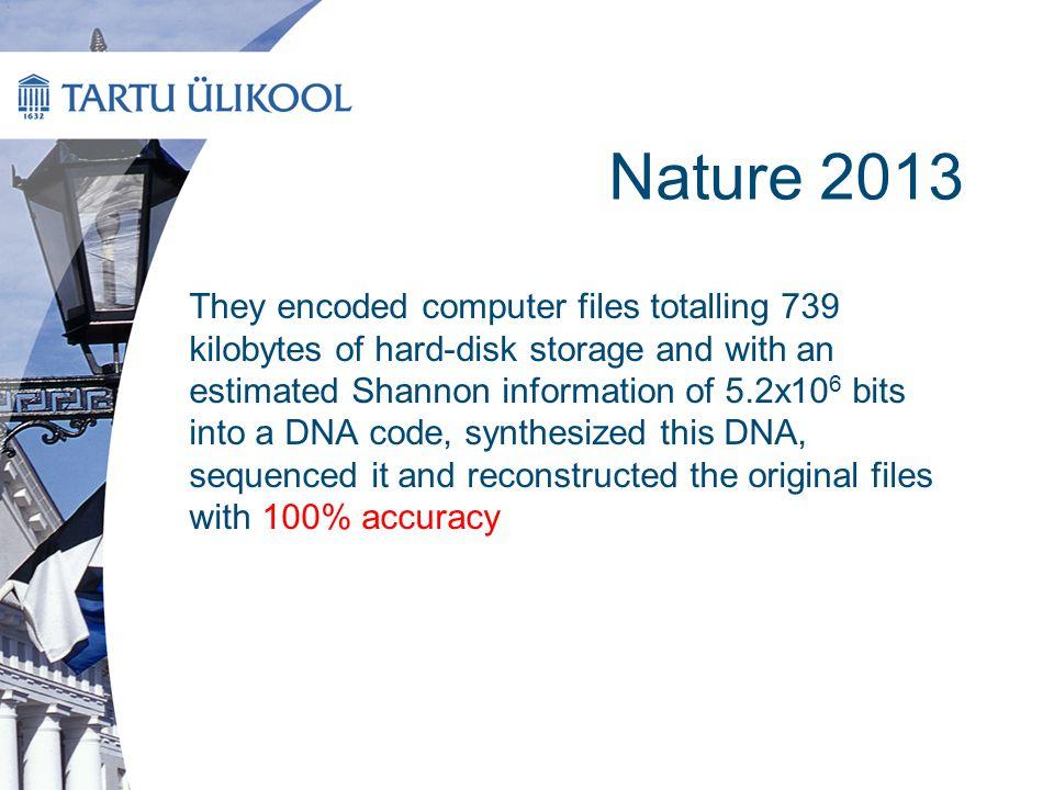 Nature 2013