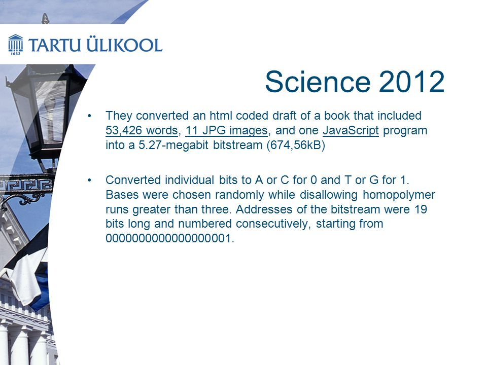 Science 2012