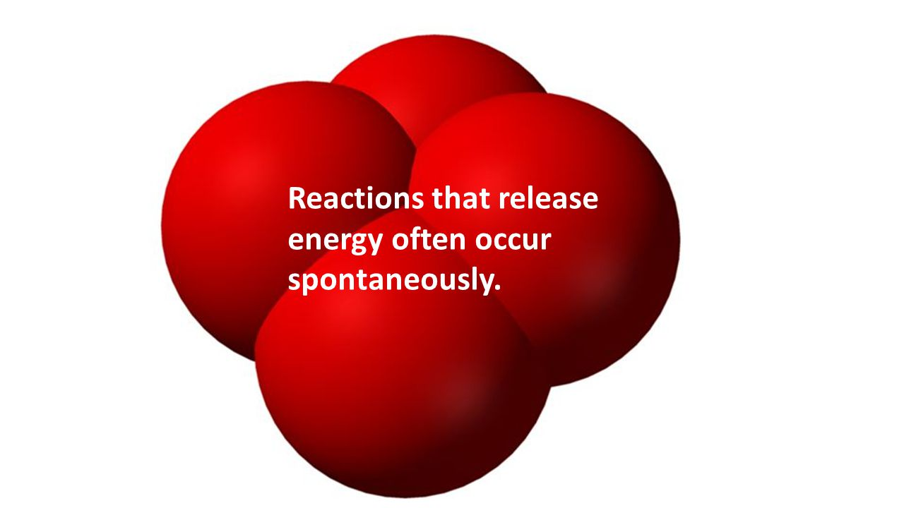 Reactions that release