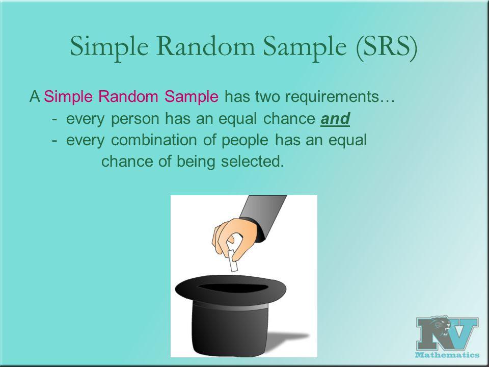Simple Random Sample (SRS)