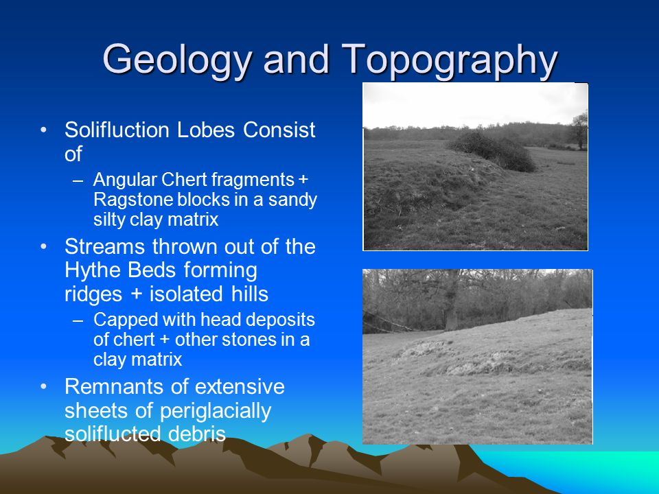 Geology and Topography