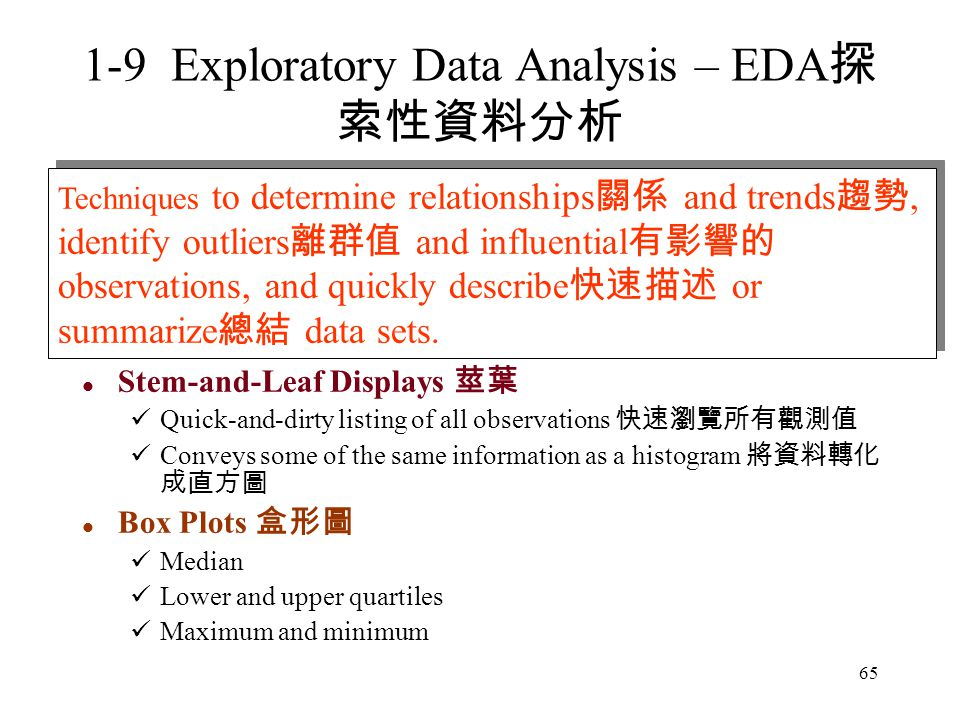 1-9 Exploratory Data Analysis – EDA探索性資料分析