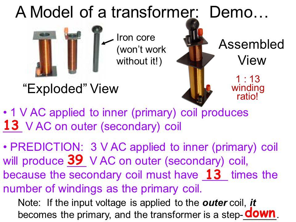 A Model of a transformer: Demo…