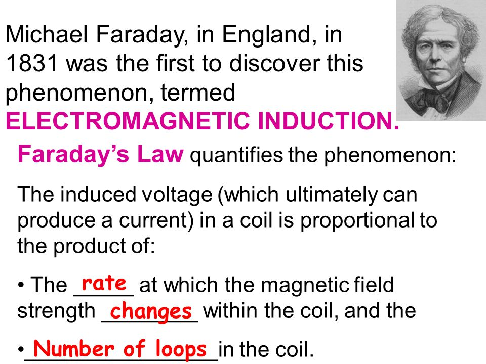 Faraday's Law quantifies the phenomenon: