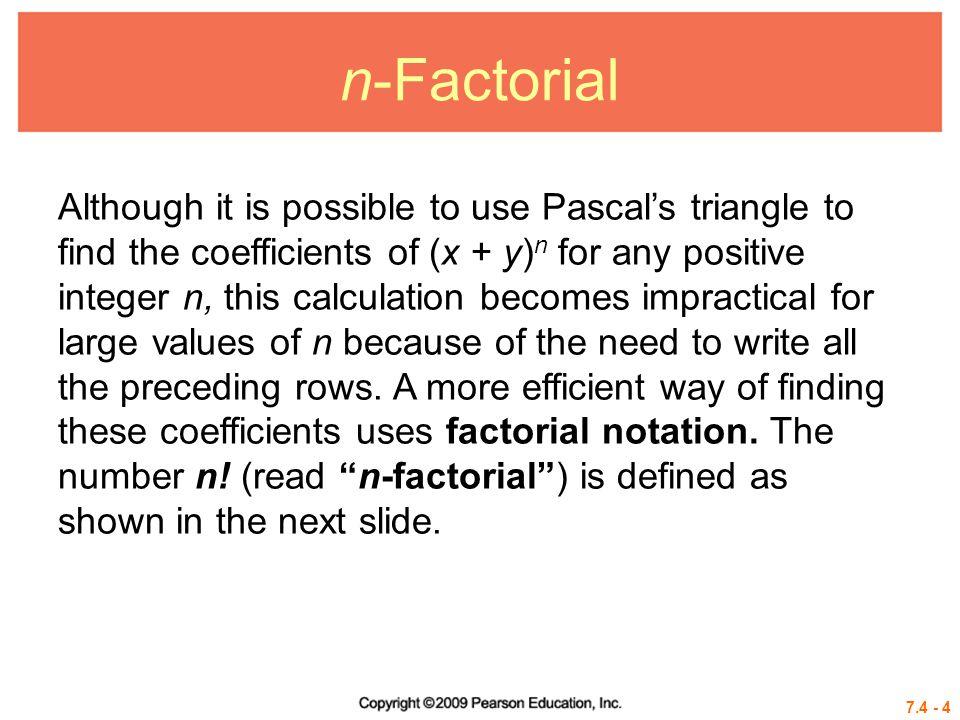 n-Factorial