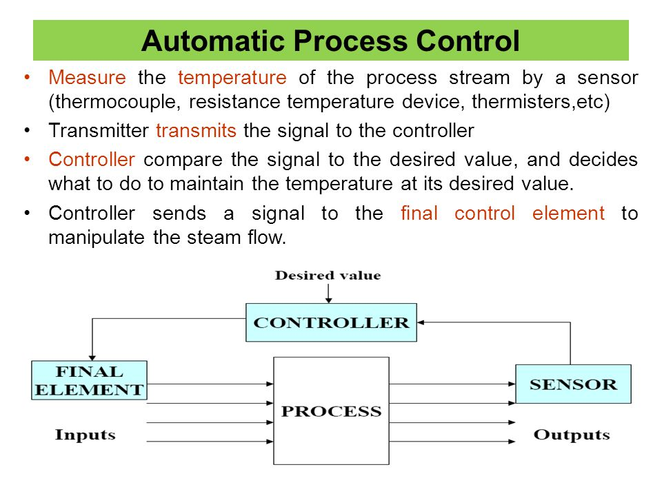 Automatic Process Control