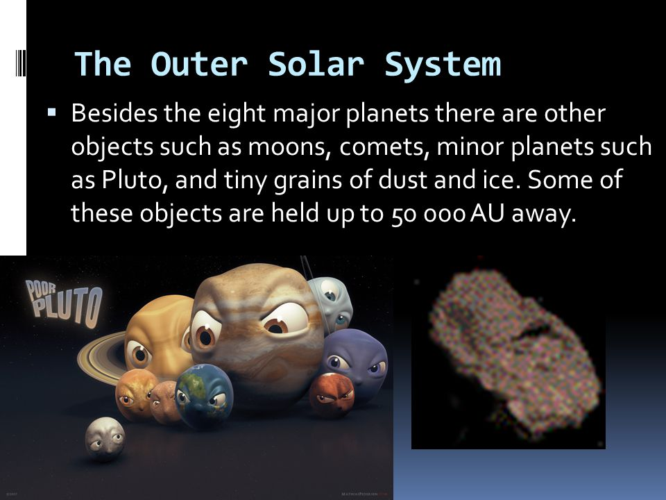 The Outer Solar System