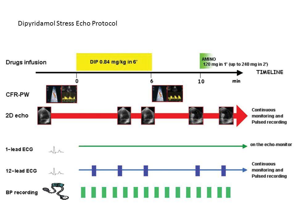 Dipyridamol Stress Echo Protocol