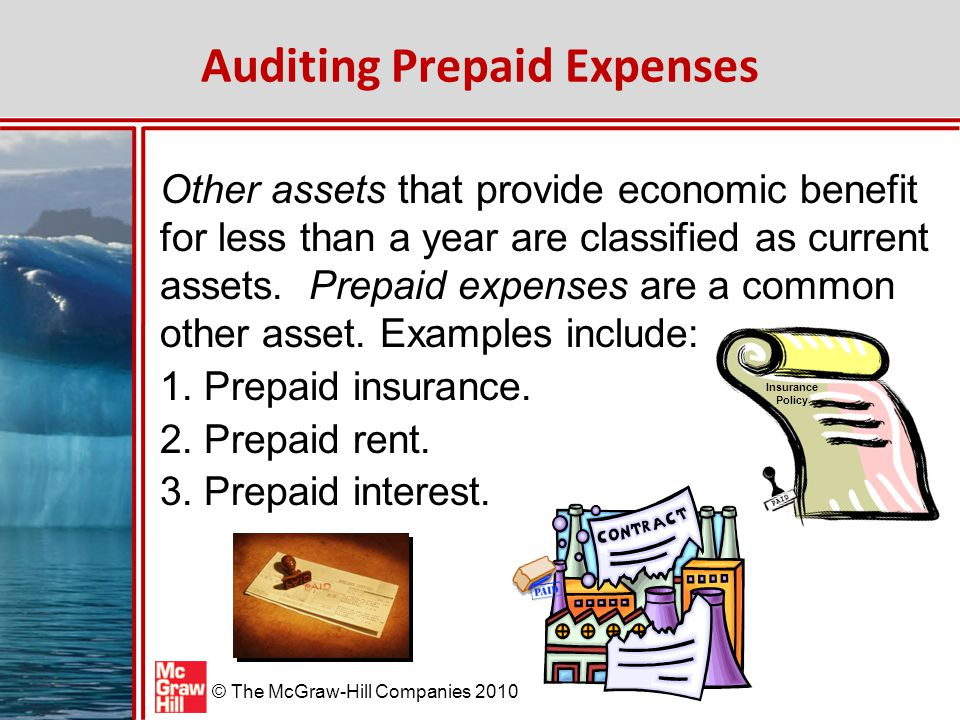 Auditing Prepaid Expenses