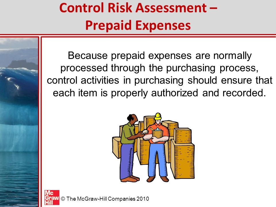 Control Risk Assessment – Prepaid Expenses