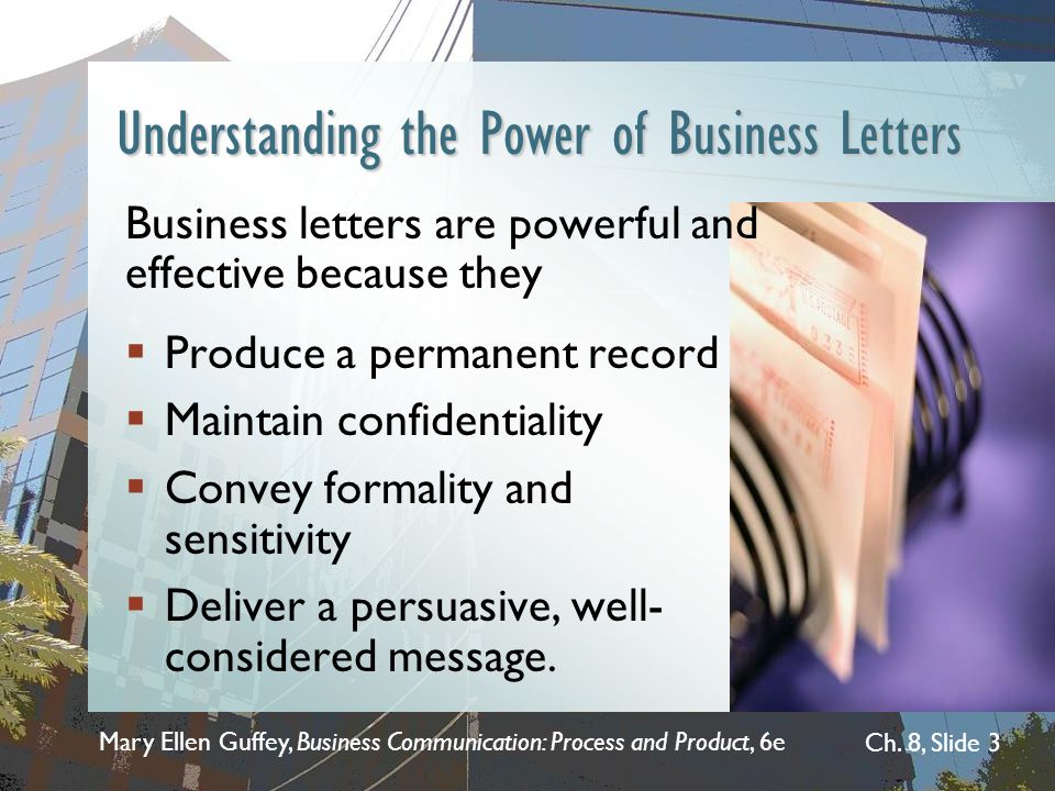 Understanding the Power of Business Letters