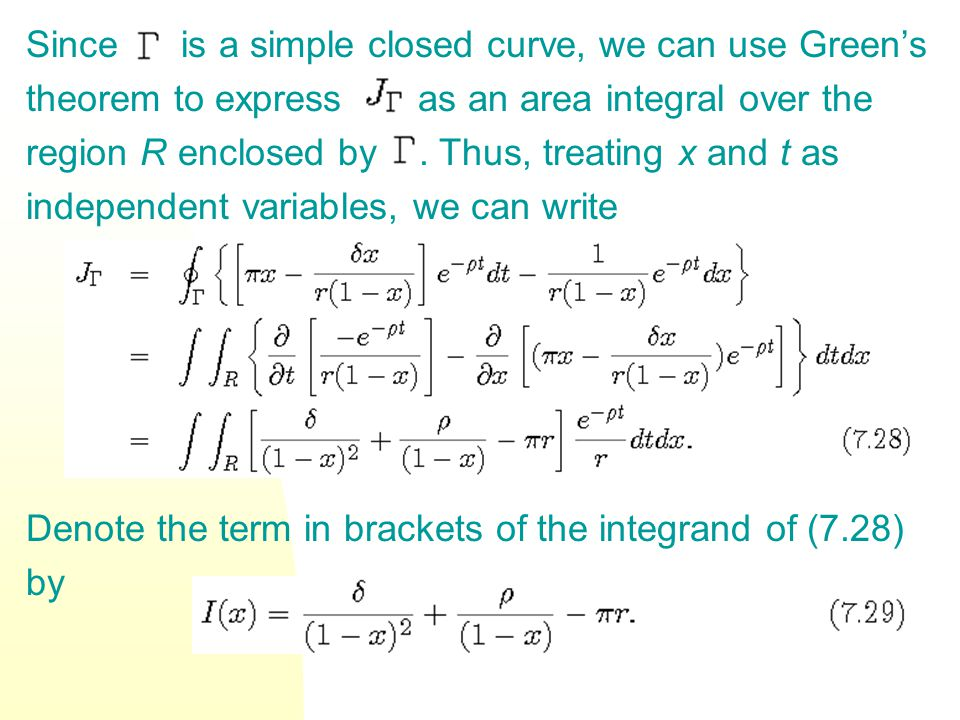 Since is a simple closed curve, we can use Green's