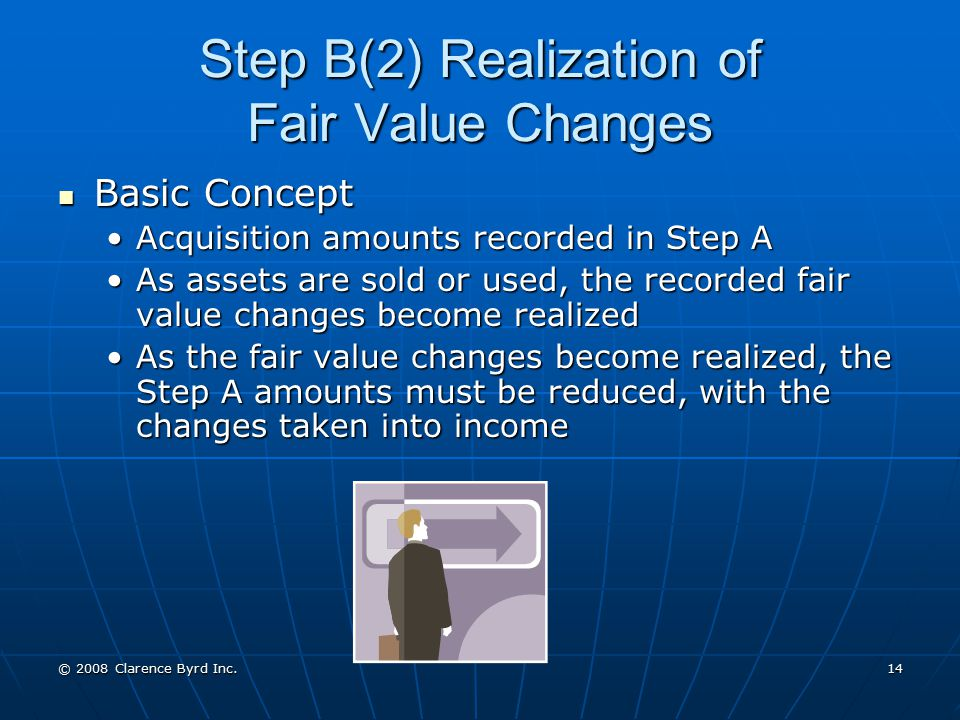 Step B(2) Realization of Fair Value Changes