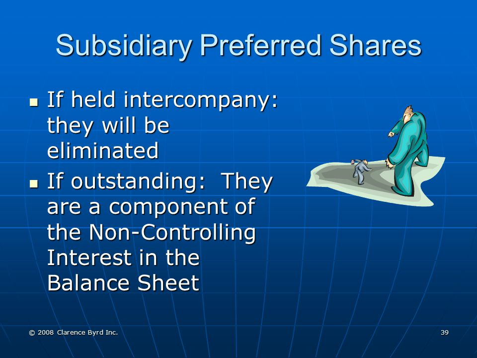 Subsidiary Preferred Shares