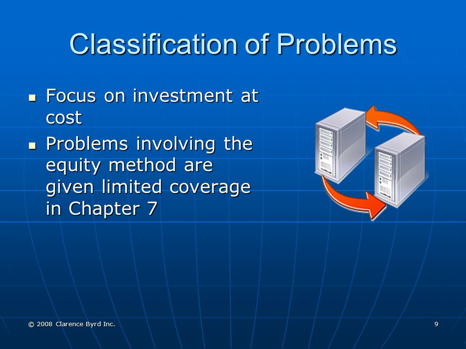 Classification of Problems