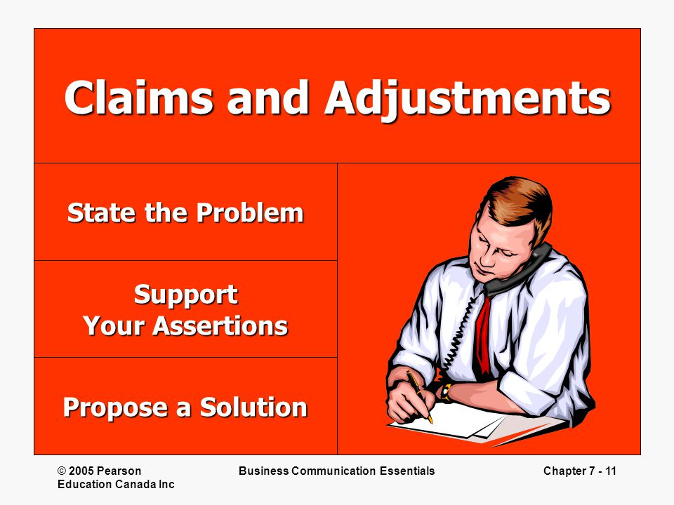 Claims and Adjustments
