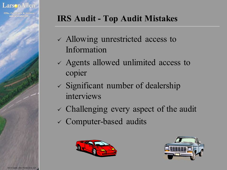 IRS Audit - Top Audit Mistakes