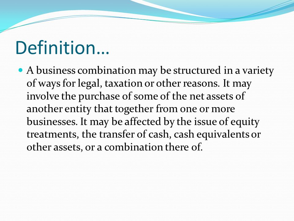Definition…