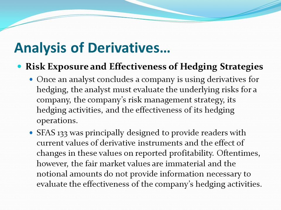 use derivatives risk management essay Icann foreign exchange risk management policy this foreign exchange risk management policy establishes to oversee the company's use of derivatives.