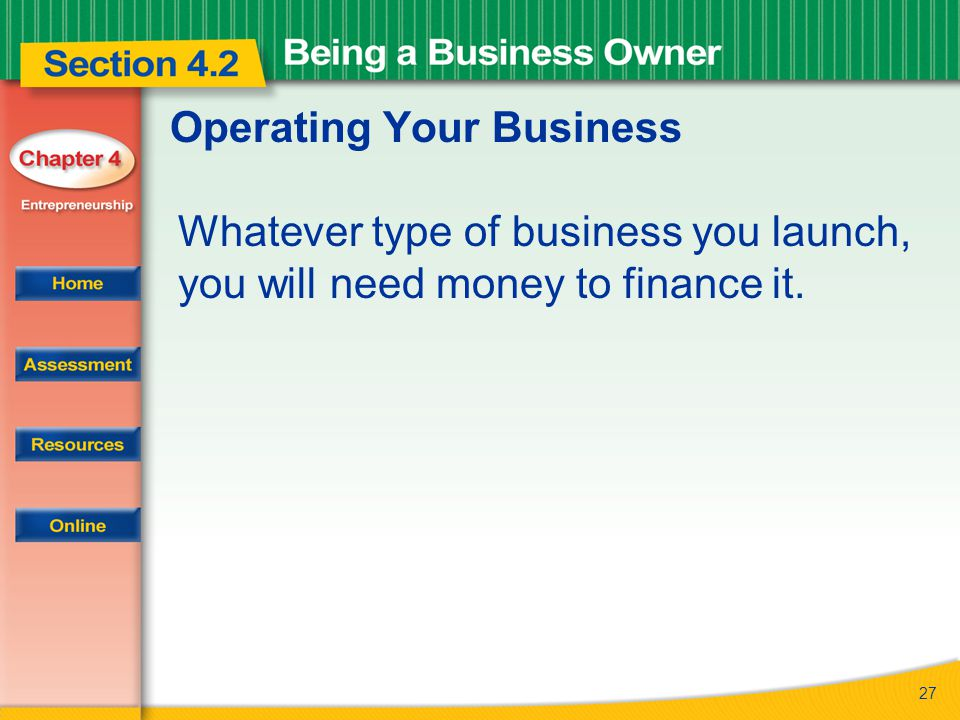 Operating Your Business