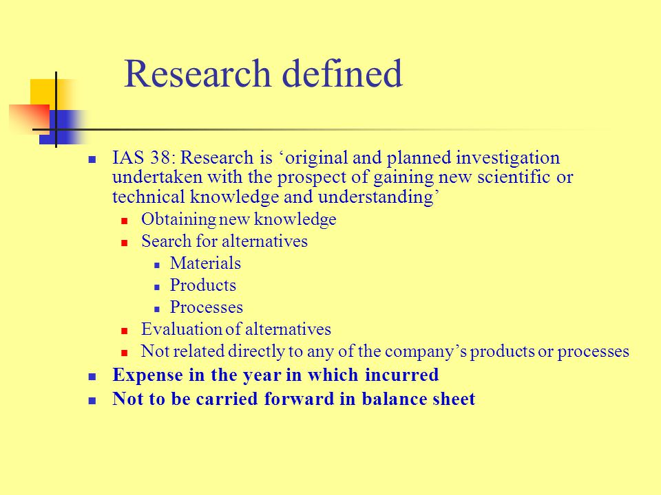 Research defined