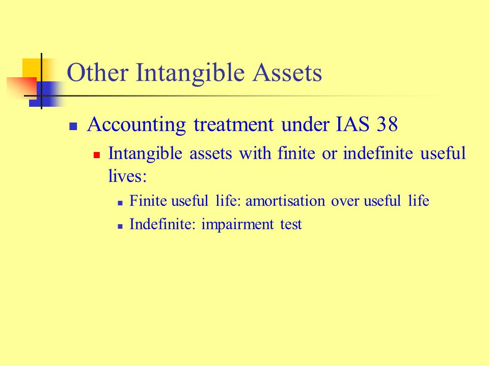 accounting treatment of intangible assets Frs 10 goodwill and intangible assets issued  effective for accounting periods ending on or  purchased goodwill and intangible assets should be amortised over.