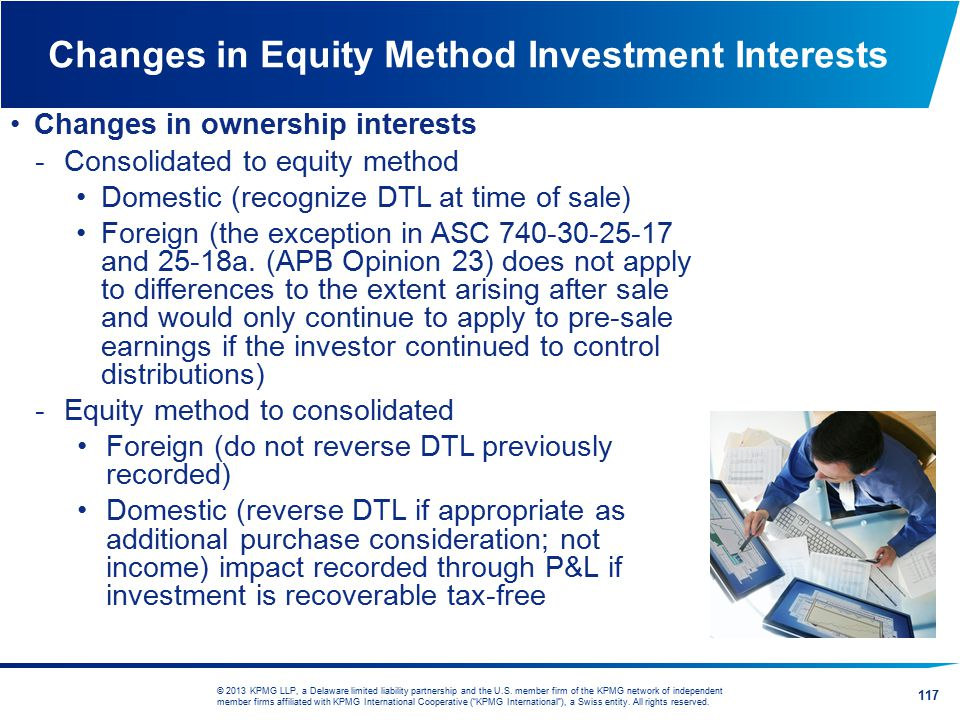 Changes in Equity Method Investment Interests