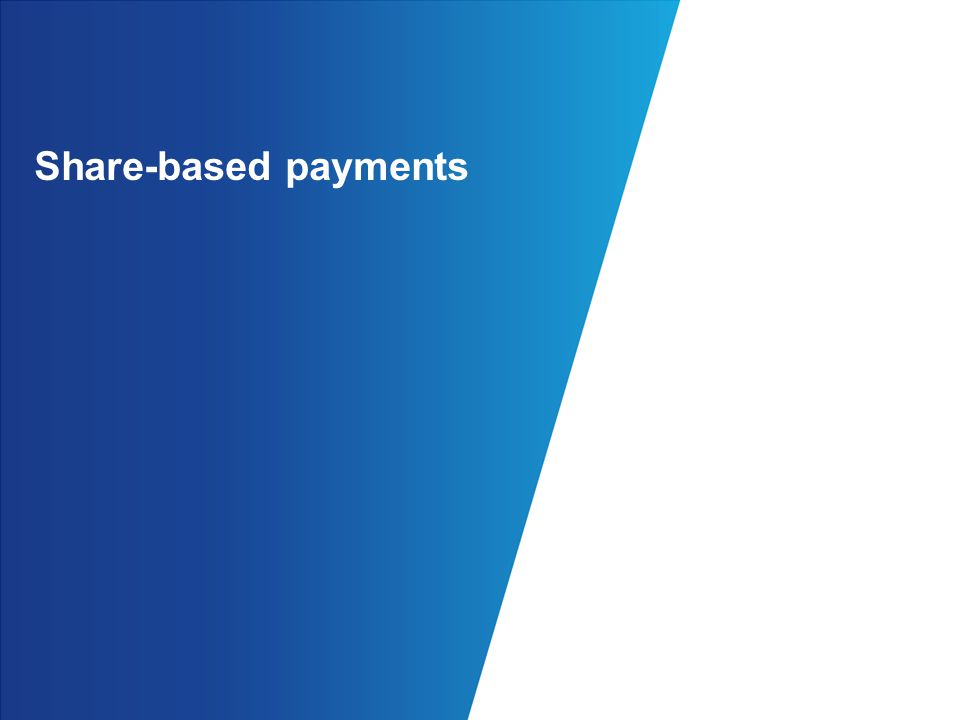 Share-based payments