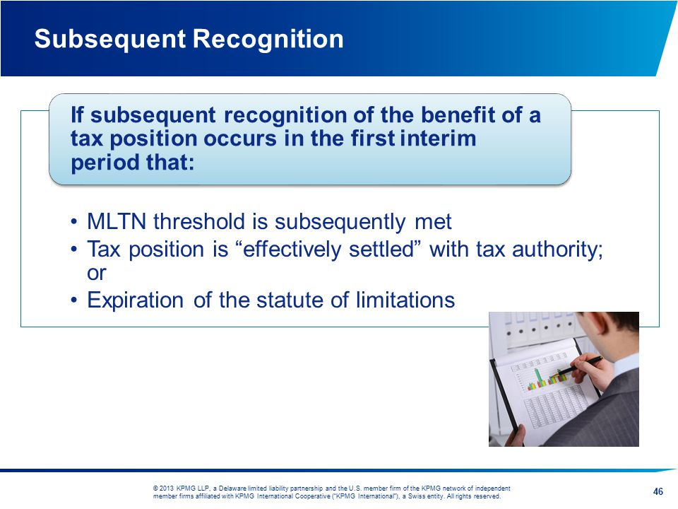 Subsequent Recognition
