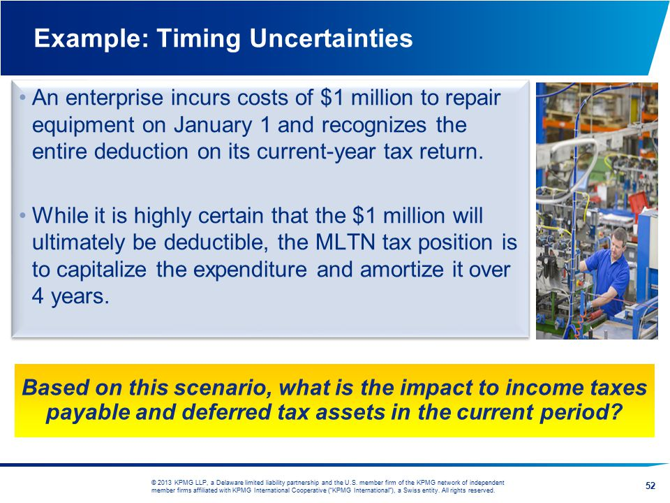 Example: Timing Uncertainties