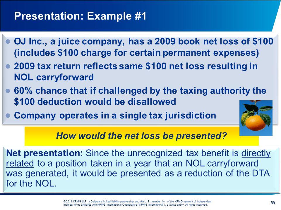 Presentation: Example #1