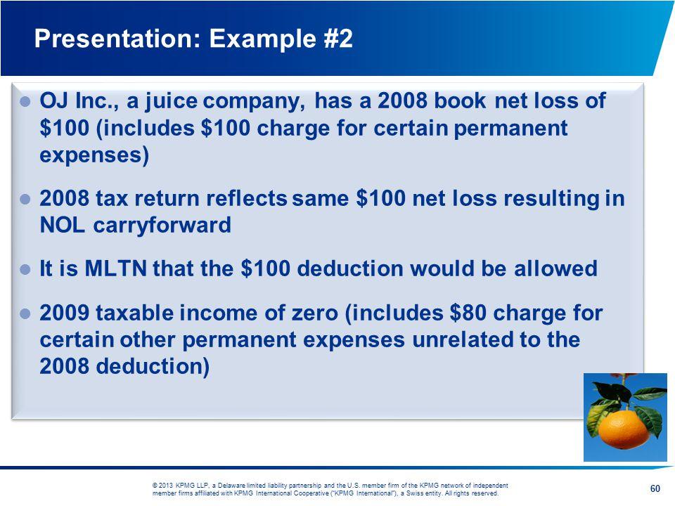 Presentation: Example #2