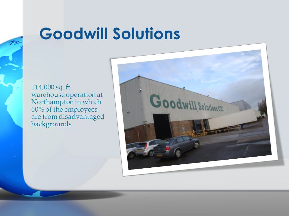 Goodwill Solutions 114,000 sq. ft.