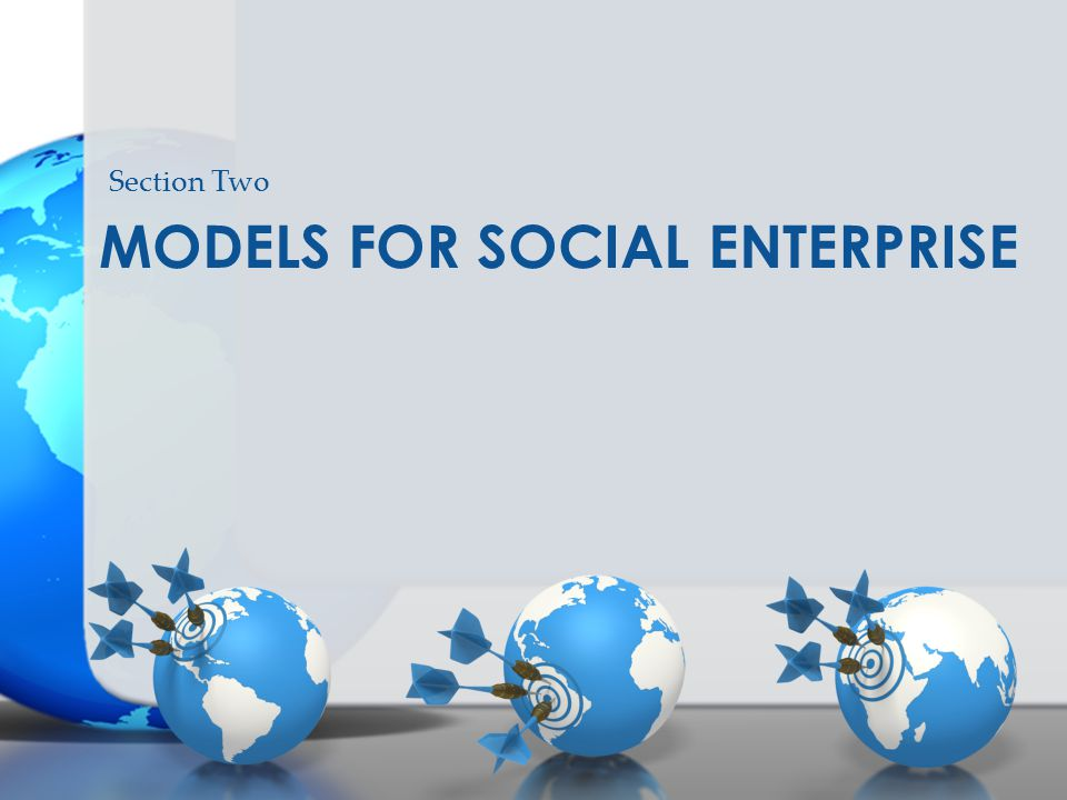 Models For social enterprise