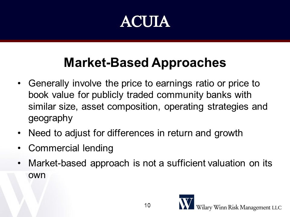 Market-Based Approaches
